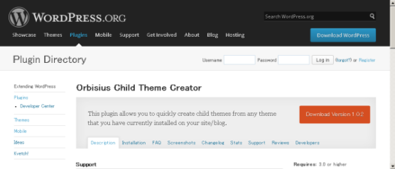 Orbisius-Child-Theme-Creator