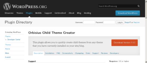 Orbisius-Child-Theme-Creator